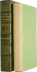 Books:Fiction, Charles Dickens. The Mudfog Papers, Etc. London: RichardBentley and Son, 1880....