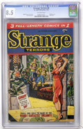 Golden Age (1938-1955):Horror, Strange Terrors #6 (St. John, 1953) CGC VF+ 8.5 Off-white pages....