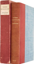 Books:First Editions, Charles E. Goodspeed. Yankee Bookseller, Being theReminiscences of Charles E. Goodspeed. Boston: Ho...