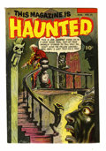 Golden Age (1938-1955):Horror, This Magazine Is Haunted #12 (Fawcett, 1953) Condition: VG....