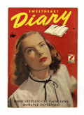 Golden Age (1938-1955):Romance, Sweetheart Diary #1 Canadian edition (Fawcett, 1949) Condition:FN+....
