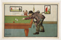 Advertising:Signs, Schwarzman Bros. Billiard Sign,...