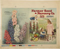 Advertising:Paper Items, Farmer Seed and Nursery Co. Catalog Proof Cover....