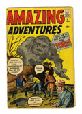 Silver Age (1956-1969):Horror, Amazing Adventures #1 (Marvel, 1961) Condition: FR/GD....