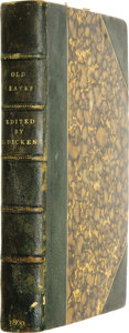 Books:Fiction, [Charles Dickens]. W. Henry Wills. Old Leaves: Gatheredfrom Household Words. London: Chapman and Hall, ...