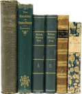 Books:First Editions, Charles Dickens. Lot of Five Dickens Works,... (Total: 6 Items)
