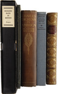 Books:Non-fiction, [Charles Dickens.] Five Books on Dickens Experiences in America, including:... (Total: 5 Items)