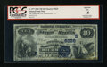 National Bank Notes:Virginia, Richmond, VA - $10 1882 Value Back Fr. 577 The American NB Ch. #(S)5229. ...