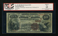 National Bank Notes:Pennsylvania, Pittsburgh, PA - $10 1882 Brown Back Fr. 490 The Bank ofPittsburgh, National Assoc Ch. # (E)5225. ...
