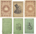 Books:Fiction, Charles Dickens. Six Books in Original Wrappers, including:... (Total: 6 Items)