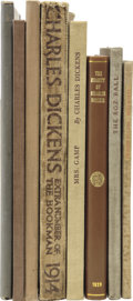 Books:Non-fiction, [Charles Dickens.] Eight Books On Dickens, including:... (Total: 8Items)