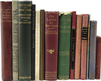 [Charles Dickens.] 14 Books By or About Charles Dickens, including: