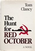 Books:Signed Editions, Tom Clancy. The Hunt for Red October. Annapolis, Maryland: Naval Institute Press, 1984....