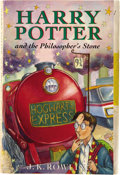 Books:First Editions, J.K. Rowling. Harry Potter and the Philosopher's Stone.[London]: Bloomsbury, [1997]....