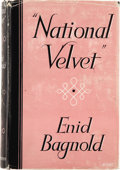 "Books:First Editions, Enid Bagnold. ""National Velvet."" London: William HeinemannLTD, [1935]...."