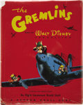 Books:First Editions, Roald Dahl. The Gremlins. From the Walt Disney Production. ARoyal Air Force Story by Flight Lieutenant Roald Da...