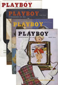 Magazines:Miscellaneous, Playboy Complete 1956 Group of 12 (HMH Publishing, 1956) Condition: Average VF.... (Total: 12 Items)