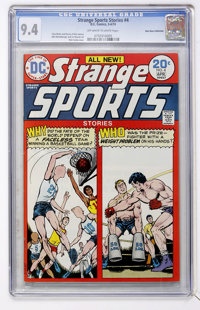 Strange Sports Stories #4 Don Rosa Collection (DC, 1974) CGC NM 9.4 Off-white to white pages