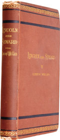Books:Signed Editions, Gideon Welles. Lincoln and Seward....