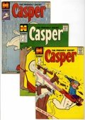 Silver Age (1956-1969):Humor, Friendly Ghost Casper File Copy Long Box Group (Harvey, 1959-87) Condition: Average NM- unless otherwise noted....