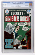 Bronze Age (1970-1979):Horror, Secrets of Sinister House #17 Don Rosa Collection (DC, 1974) CGCNM- 9.2 White pages....