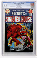 Bronze Age (1970-1979):Horror, Secrets of Sinister House #8 Don Rosa Collection (DC, 1972) CGC VF+8.5 Off-white to white pages....