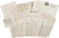 Military & Patriotic:Indian Wars, Lot of 34 Letters to Gen. Thomas or from Gen. Thomas 1860s-1880s -... (Total: 34 Items)