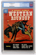 Silver Age (1956-1969):Western, Dell Giant Comics - Western Roundup #19 (Dell, 1957) CGC NM+ 9.6Off-white pages....