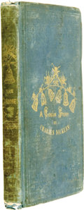 Books:First Editions, Charles Dickens. The Chimes:...