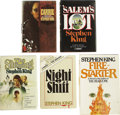Books:Fiction, Stephen King. Ten Early Novels and Story Collections, including:...(Total: 10 Items)
