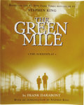 Books:Signed Editions, [Stephen King]. Frank Darabont. The Green Mile. The Screenplay. New York: Scribner Paperback Fiction, [1999]....