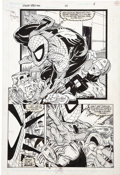 Original Comic Art:Splash Pages, Todd McFarlane - The Amazing Spider-Man #325, Page 24 Original Art(Marvel, 1989)....