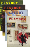 Magazines:Miscellaneous, Playboy Complete 1958 Group of 12 (HMH Publishing, 1958) Condition:Average VF.... (Total: 12 Items)
