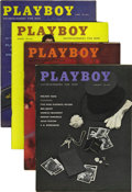 Magazines:Miscellaneous, Playboy Complete 1959-60 Group of 24 (HMH Publishing, 1959-60)Condition: Average VF.... (Total: 24 Items)
