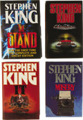 Books:First Editions, Stephen King. Eight British First Editions, including:... (Total: 8Items)