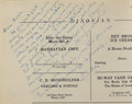 Autographs:U.S. Presidents, Ronald Reagan 1928 Senior Year in High School Yearbook Signed...