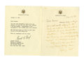 Autographs:U.S. Presidents, Gerald Ford Scarce Autograph Letter Signed... (Total: 2 Items)