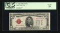 Small Size:Legal Tender Notes, Fr. 1530 $5 1928E Mule Legal Tender Note. PCGS Very Fine 25.. ...