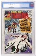 Bronze Age (1970-1979):Western, Tomahawk #139 (DC, 1972) CGC NM+ 9.6 White pages....
