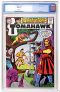 Silver Age (1956-1969):Adventure, Tomahawk #96 (DC, 1965) CGC NM 9.4 Off-white pages....