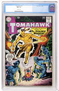 Silver Age (1956-1969):Adventure, Tomahawk #72 (DC, 1961) CGC NM- 9.2 Off-white pages....
