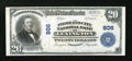National Bank Notes:Kentucky, Lexington, KY - $20 1902 Plain Back Fr. 656 The Lexington City NBCh. # 906. ...