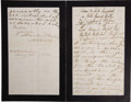 Autographs:Non-American, Prince Albert of Great Britain, Consort of Queen Victoria,Autograph Letter Signed,...