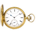 Timepieces:Pocket (pre 1900) , E. Howard and Co. Boston, Series III Gold Hunters, circa 1863. ...
