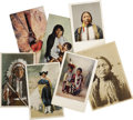 Miscellaneous:Postcards, Lot of Six Indian Postcards & Photograph of Sitting Bull ca1900-1920 - ... (Total: 7 Items)