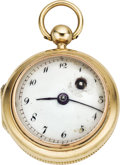 Timepieces:Pocket (pre 1900) , Romilly, Paris Scarce Miniature Verge Fusee, circa 1770. ...