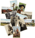 Miscellaneous:Postcards, Twelve Buffalo Bill Relating Postcards ca 1900s-1920s - ... (Total:13 Items)