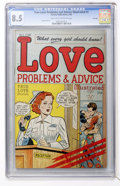 Golden Age (1938-1955):Romance, True Love Problems and Advice Illustrated #1 File Copy (Harvey,1949) CGC VF+ 8.5 Light tan to off-white pages....