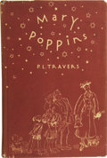 Books:First Editions, P. L. Travers. Mary Poppins. Illustrated by Mary Shepard.New York: Reynal & Hitchcock, [1934]....