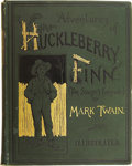 Books:First Editions, Mark Twain. Adventures of Huckleberry Finn (Tom Sawyer'sComrade)....
